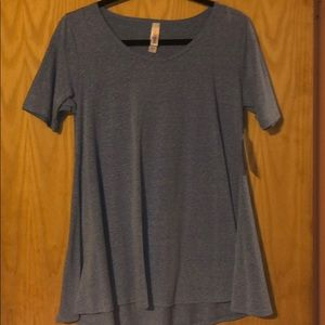 XS Heather blue Perfect T - NWT